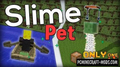 Slime Pet Command Block For Minecraft 1.9