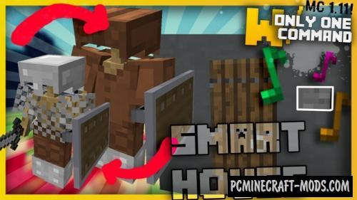 Smart House Devices Command Block For Minecraft 1.11.2
