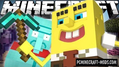 Spongebob Command Block For Minecraft 1.10.2