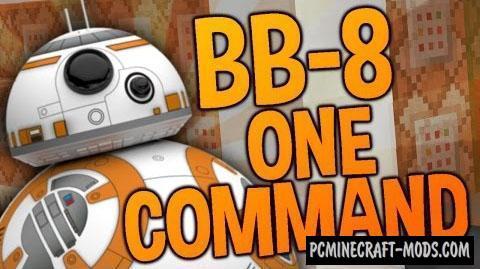 Star Wars BB-8 Command Block For Minecraft 1.8.9