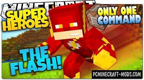 The Flash Command Block For Minecraft 1 8 9 Pc Java Mods Addons