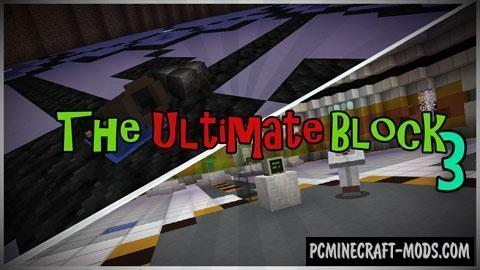 The Ultimate Block 3 - Puzzle Map For Minecraft