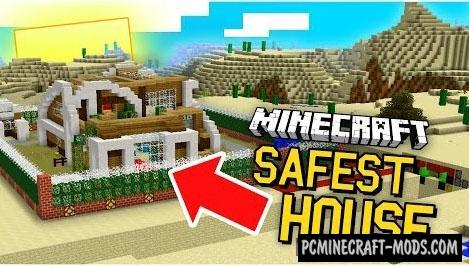 The World's Safest Redstone House Map For MC