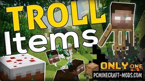 Troll Items Command Block For Minecraft 1.9.4, 1.9