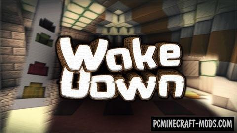 WakeDown - Puzzle Map For Minecraft