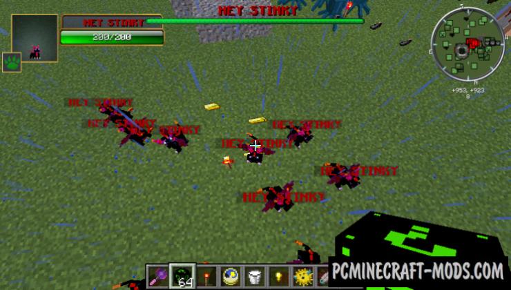Lucky Block Dark Neon Mod For Minecraft 1.7.10