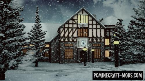 Santa's Workshop Map For Minecraft