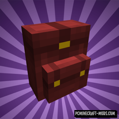 Wearable Backpacks Mod For Minecraft 1.11.2, 1.10.2
