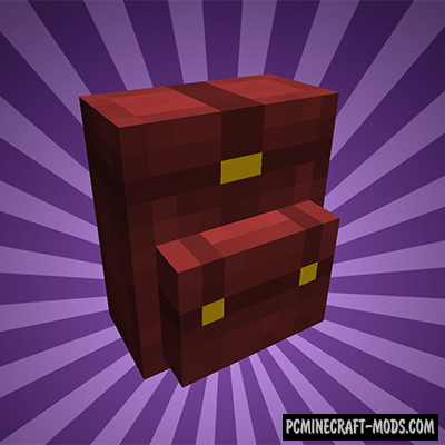 Wearable Backpacks Mod For Minecraft 1.12.2, 1.11.2, 1.10.2