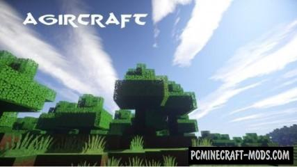 AgirCraft 64x64 Resource Pack For Minecraft 1.14.4, 1.14.3