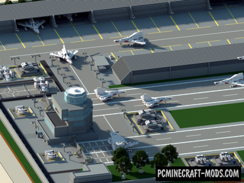 AirBase Map For Minecraft