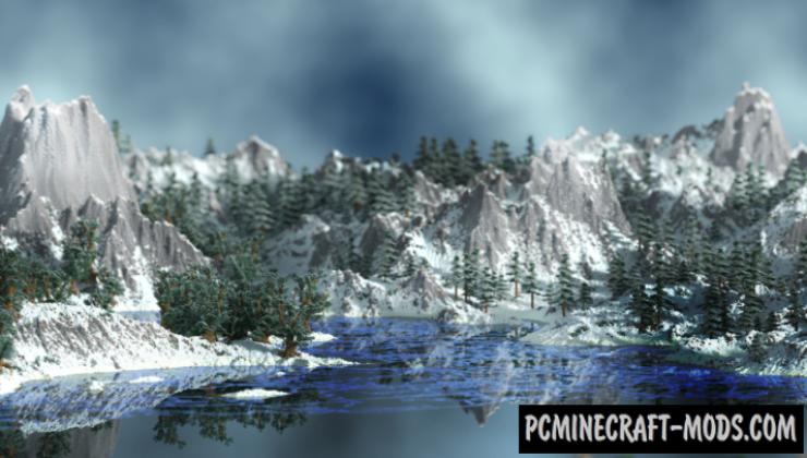 Alpha Slopes - Survival, Adv Map For Minecraft