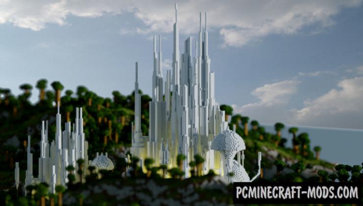 Atlantis - City Map For Minecraft