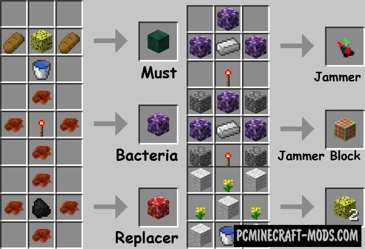 Bacteria - Bio Technology Mod For Minecraft 1.12.2