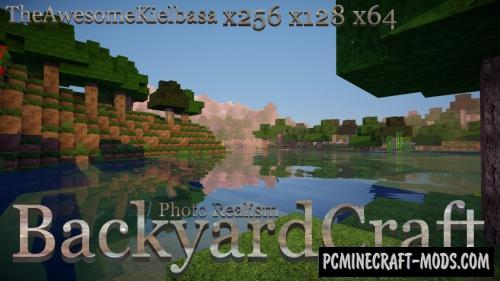 BackyardCraft Resource Pack For Minecraft 1.8.9, 1.8, 1.7.10