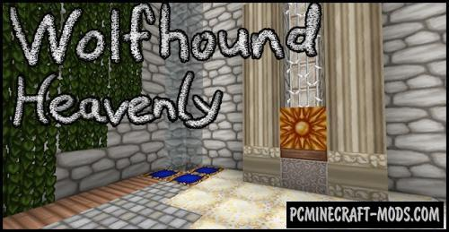 Wolfhound Heavenly 64x Resource Pack For MC 1.16.2, 1.15.2