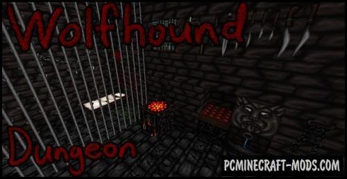 Wolfhound Dungeon 64x Resource Pack MC 1.15.2, 1.14.4