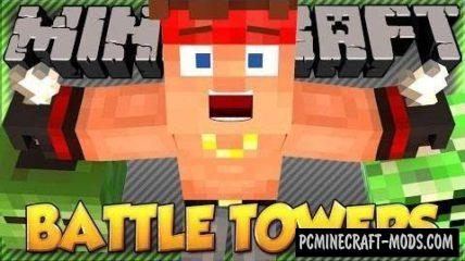 Battle Towers Mod For Minecraft 1.12.2, 1.11.2, 1.10.2, 1.8