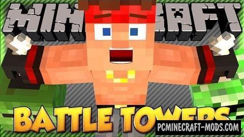 Battle Towers Mod For Minecraft 1.12.1, 1.11.2, 1.10.2, 1.8