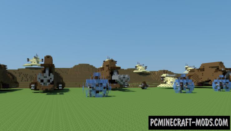 Battle of Naboo - 3D Art Map For Minecraft