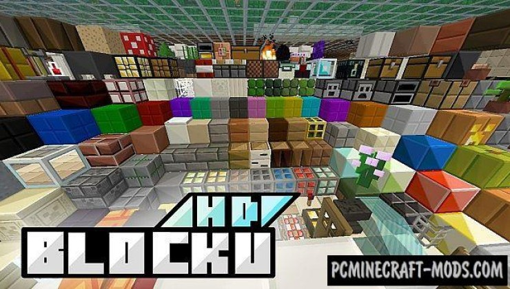 BLOCKU HD 32x Resource Pack For Minecraft 1.7.10