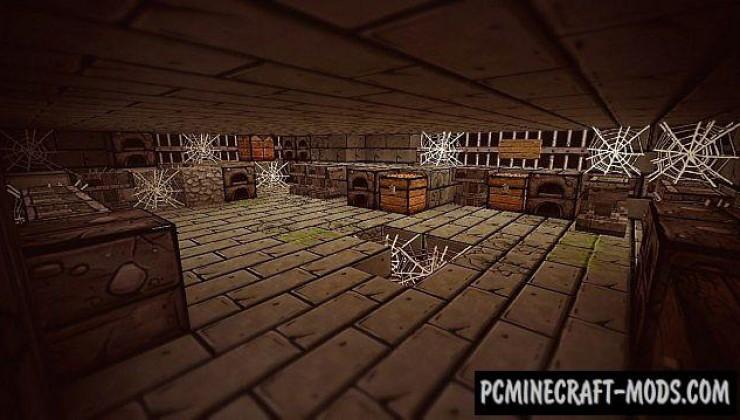 Bordercraft 5 - 128x Resource Pack For Minecraft 1.7.10