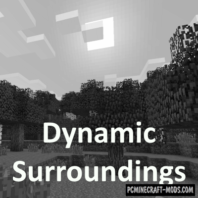 Dynamic Surroundings - Realistic Mod 1.16.5, 1.12.2, 1.8.9