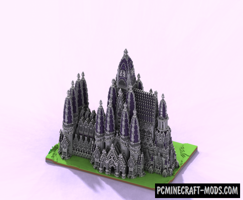 Cathedral - 3D Building Map For Minecraft