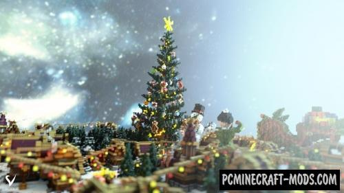 Minecraft Christmas Map.Whiteridge Map For Minecraft 1 15 1 14 4 Pc Java Mods