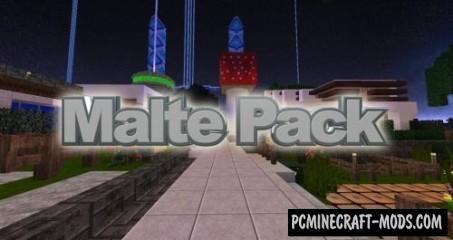 Malte Resource Pack For Minecraft 1.15.1, 1.14.4