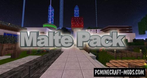 Malte 64x Resource Pack For Minecraft 1.15.2, 1.14.4
