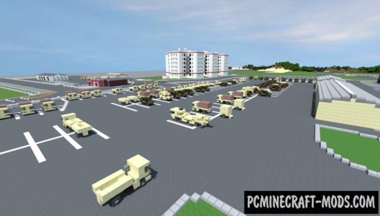 Fort Hamilton - Buildings Map For Minecraft