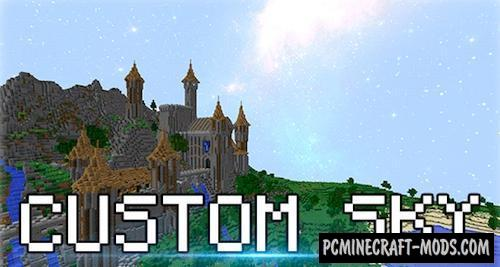Custom Sky Resource Pack For Minecraft 1.8.9, 1.8, 1.7.10