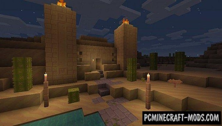 Dandelion 16x Resource Pack For Minecraft 1.12.2, 1.7.10