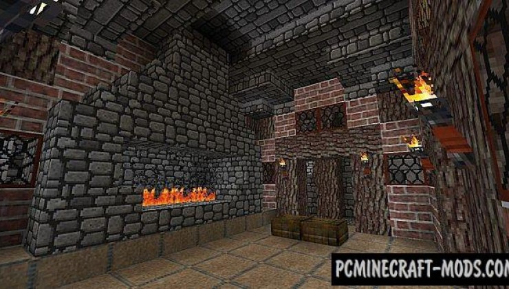 Darklands Medieval Resource Pack For Minecraft 1.7.10, 1.7.2, 1.6.4
