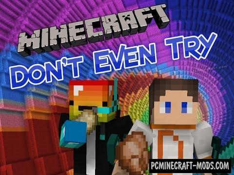 Don't Even Try - Parkour, Puzzle Map Minecraft
