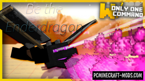 Be The Ender Dragon Command Block For Minecraft 1.9