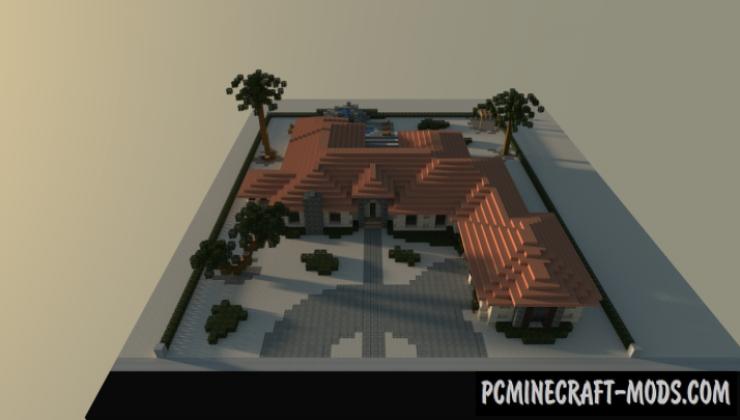 Desert House Map For Minecraft