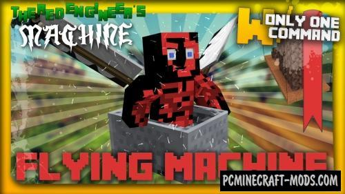 Flying Machine Command Block For Minecraft 1.8.9