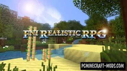 FNI Realistic RPG Resource Pack For Minecraft 1.7.10, 1.7.2, 1.6.4