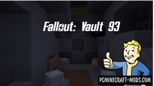 Fallout: Vault 93 Map For Minecraft