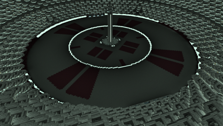 Coruscant Map For Minecraft