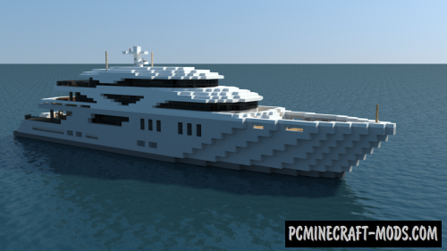 mcpe yacht map download