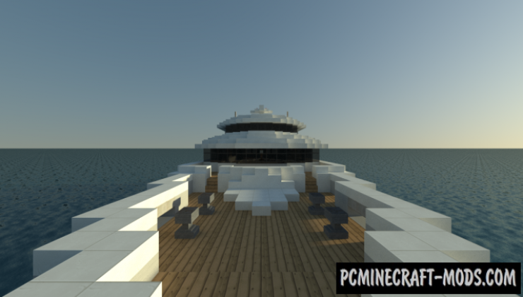 Grayscale - Building, 3D Art Map For Minecraft