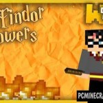 Harry Potter spells & magic weapons Command Block For Minecraft 1.8.9, 1.8.8, 1.8