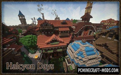 Halcyon Days 32x Resource Pack For Minecraft 1.8.9, 1.7.10