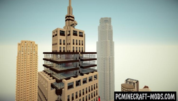 High Rossferry City Resource Pack For Minecraft 1.6.4, 1.6.2