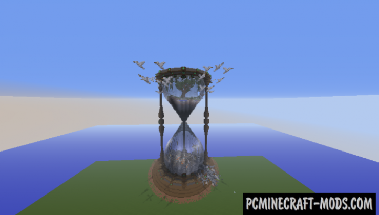 Nature's Last Hour - 3D Art Map For Minecraft