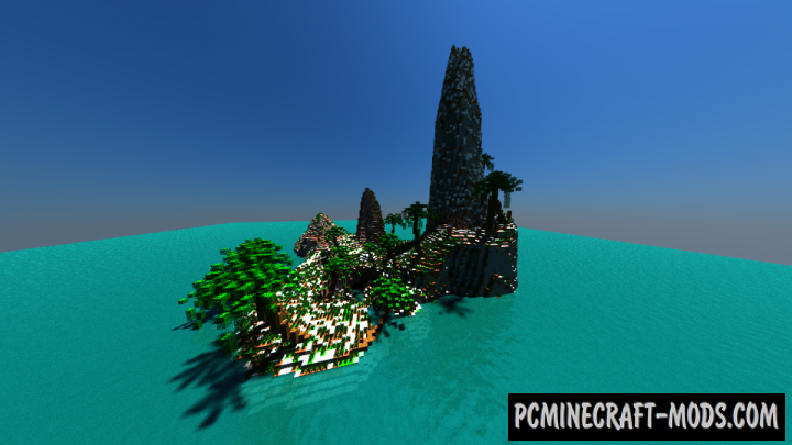 Pirate Island Map For Minecraft