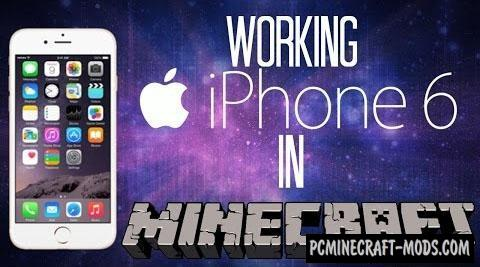 iPhone 6 Map For Minecraft